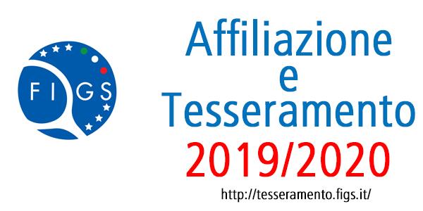 2019 affiliazione