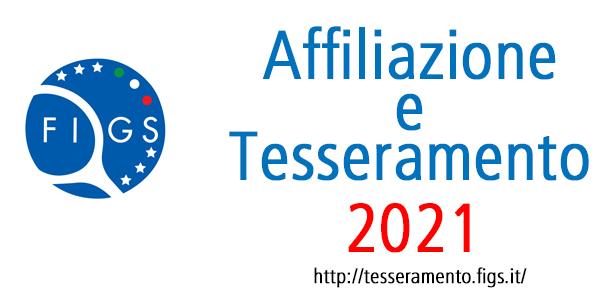 2021 affiliazione