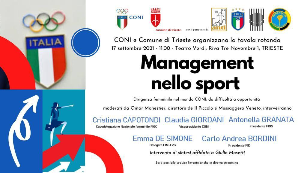 Management nello sport