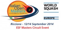 Italian Open Masters 2014