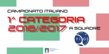 Camp. Ita. a squadre di 1a cat 2016-17